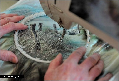 Фотореалистичная вышивка Джилл Дрэпер