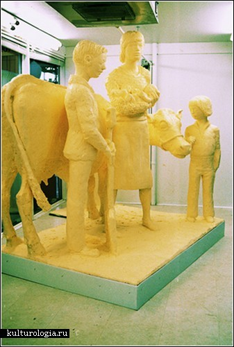 Масляные скульптуры Джима Виктора