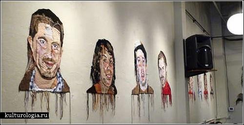 В'язані портрети від Джо Хемілтон