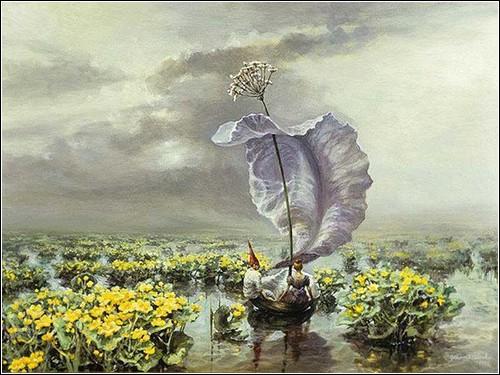 Мечтательная живопись от Joanna Sierko-Filipowska
