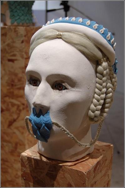Гротескные скульптуры Джонатана Бэлдока