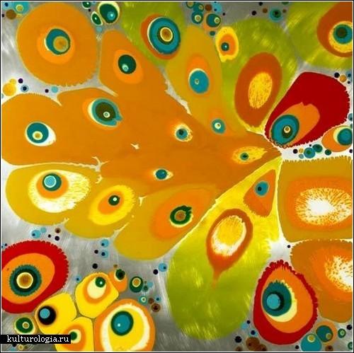 Картины, нарисованные эпокчидными полимерами