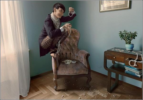Фотоманипуляции Яна Криволя