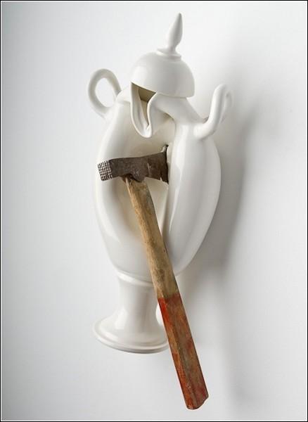 Скульптуры Лорана Краста