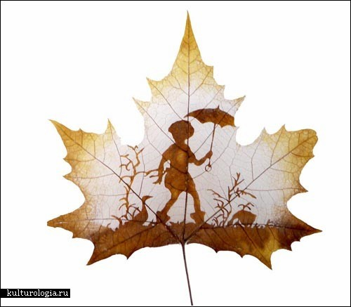 Amazing Examples of Leaf Carving Art.