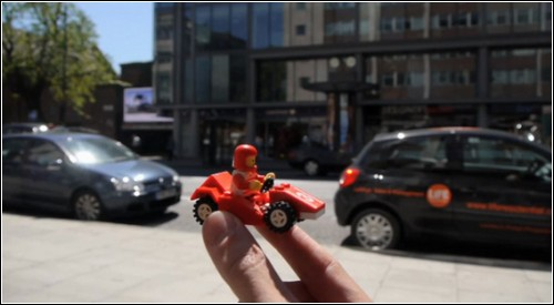 Lego в реальной жизни: видеоролик Темуджина Дорана