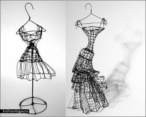 «Wire Couture Collection»: высокая мода из колючей проволоки