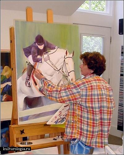 Лиза Фиттипальди – слепая художница