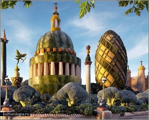 Съедобный Лондон от Карла Уорнера