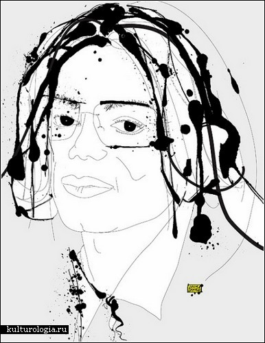 Акварельно-чернильные портреты от Луизы Бертман