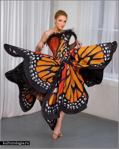 платья с вязаным лифом для полных