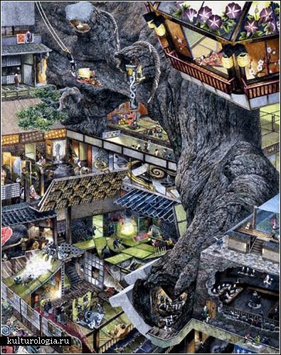 Живопись Манабу Икеда: все внимание на детали
