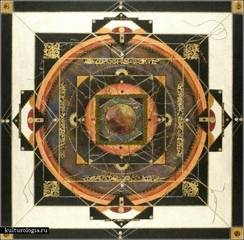 «Mandala» - сакральные картины Дианы Фергюсон