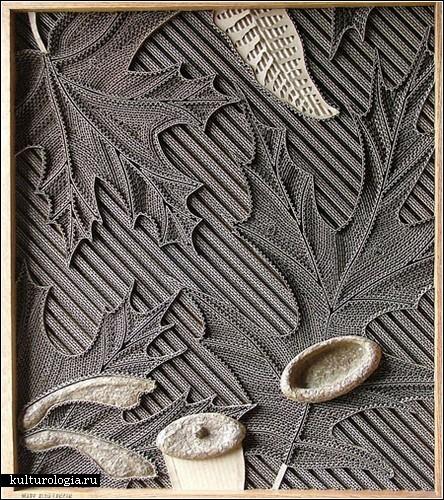 Гофрированное искусство Марка Лангана