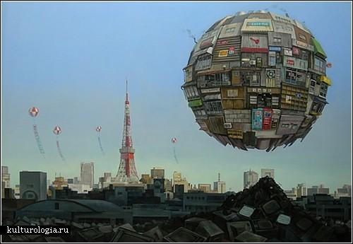 Картины Масакатсу Саши