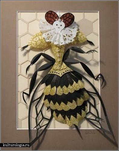 Бумажные скульптуры Меган Брейн