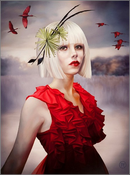 Мелисса Форман. «Та, которая летает с алыми ибисами»