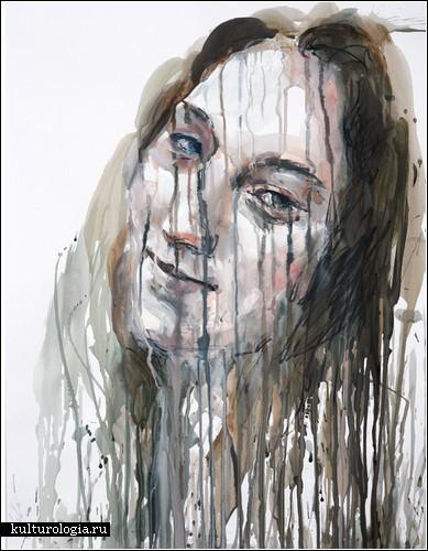 Тающие портреты от Крисси Энлайкер