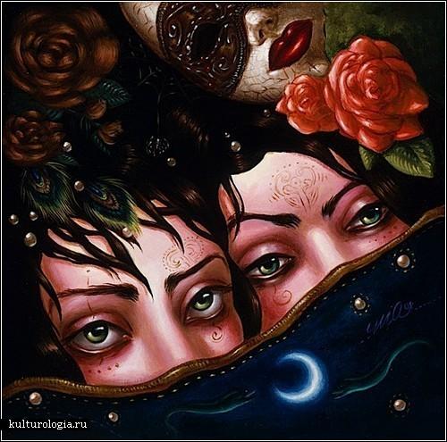 Поп-сюрреализм Мишель Арауджо: вселенная внутри нас
