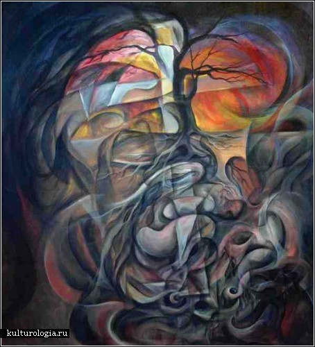 Борьба с самим собой в живописи Майкла Индорато