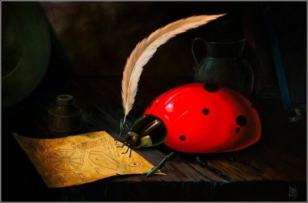 Сюрреалистическая живопись Майка Дэвиса