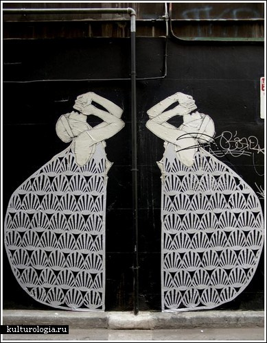 Стрит-арт на улицах Мельбурна. Творчество Miso