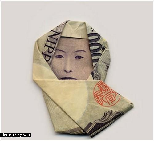 Денежные оригами Хасегава Йосуке