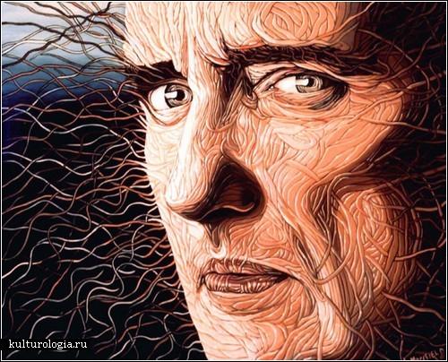 Картины Джека Морефилда: черточка за черточкой…