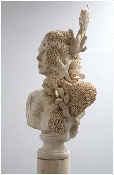 Деревянные скульптуры Моргана Херрина