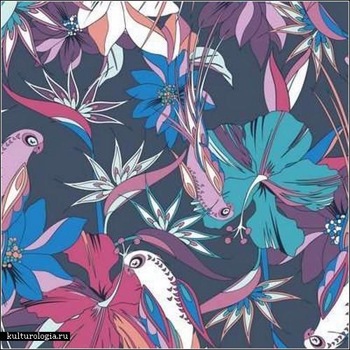 Цветы и яркие краски в работах Nadia Flower