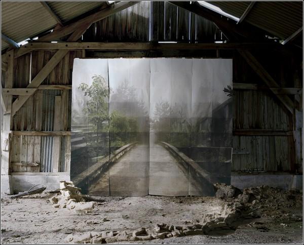 Иллюзорные пейзажи от Ноэми Гудал