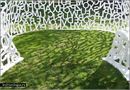 Человек из букв: скульптура Жауме Пленса