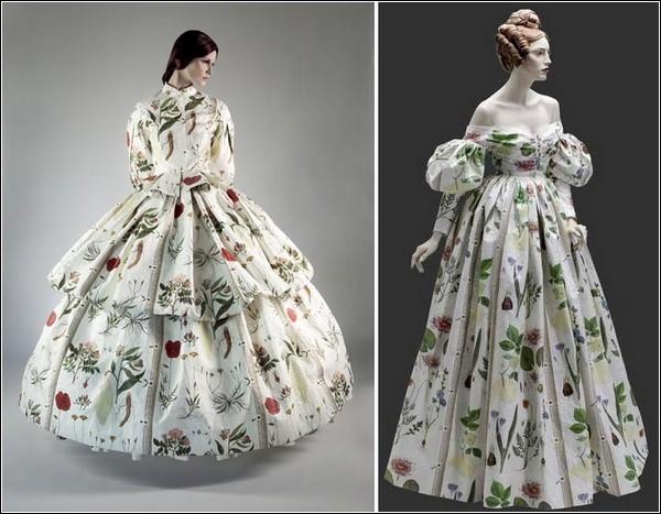 Самые красивы платья 19 века