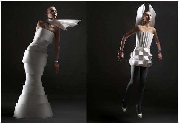 Бумажная мода по-русски
