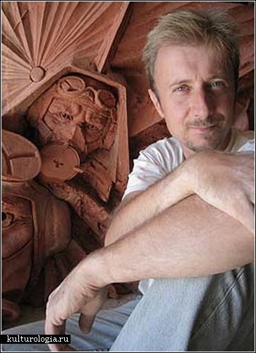 Глиняные скульптуры Пола Дэя