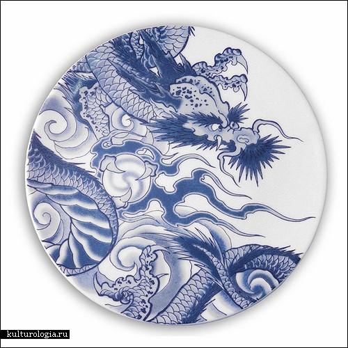 Татуировки на посуде от Пола Тиммана