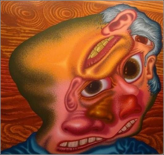Абсурдная живопись Петера Саула