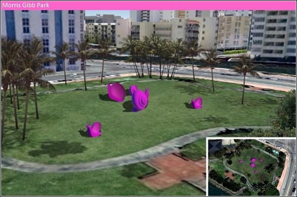 Розовые улитки атакуют Майами