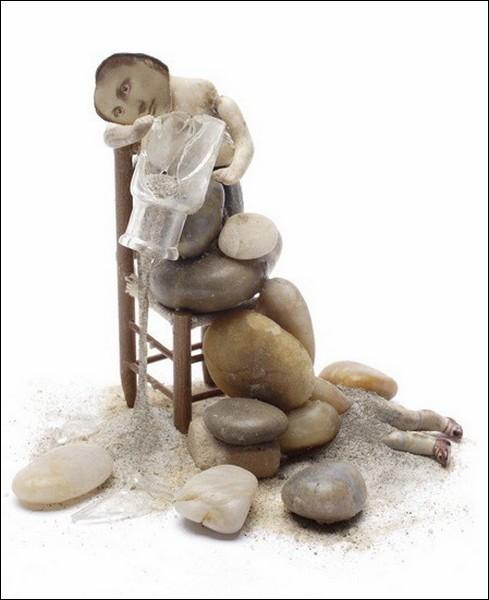 То ли скульптуры, то ли коллажи… «Аssemblages» от Полли Беккер