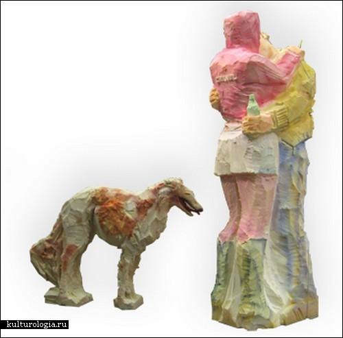 Поролоновые скульптуры Сергея Шеховцова