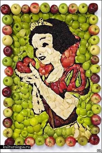 Food art от Пруденс Эммы Стейт