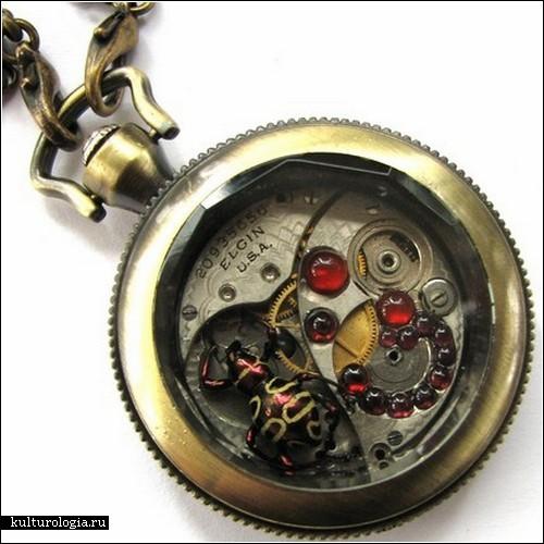 «Kafka Clocks» - украшения в стиле стимпанк