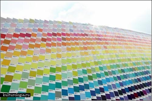 Рекламная радуга в Индонезии