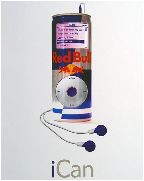 Скульптуры из банок «Red Bull»