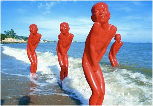 Red Memory. Инсталляция Чена Венлинга
