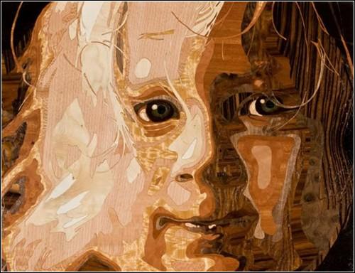 Портреты из фанеры от Роба Милама