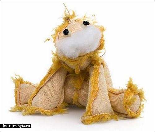 Плюшевые мишки «наизнанку» от Кента Роговски