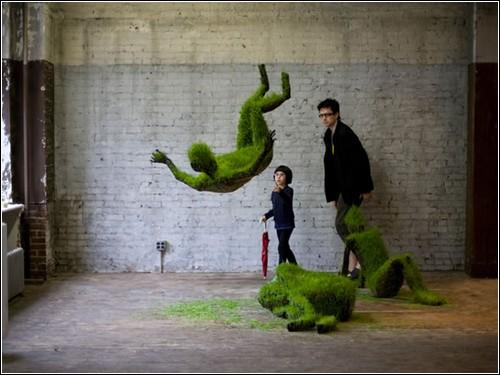 Растущие скульптуры от Mathilde Roussel-Giraudy