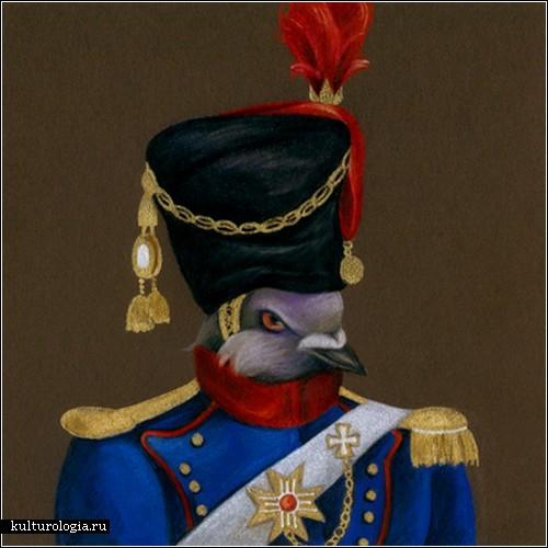 Голуби-военные Саманты Заза