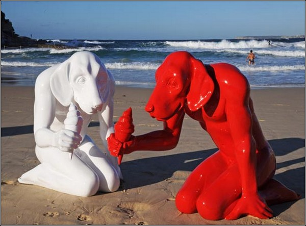 Люди-собаки от Джилли и Марка Шеттнер